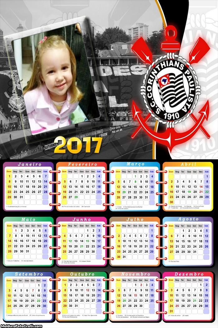 Calendário Corinthians Hexa 2017