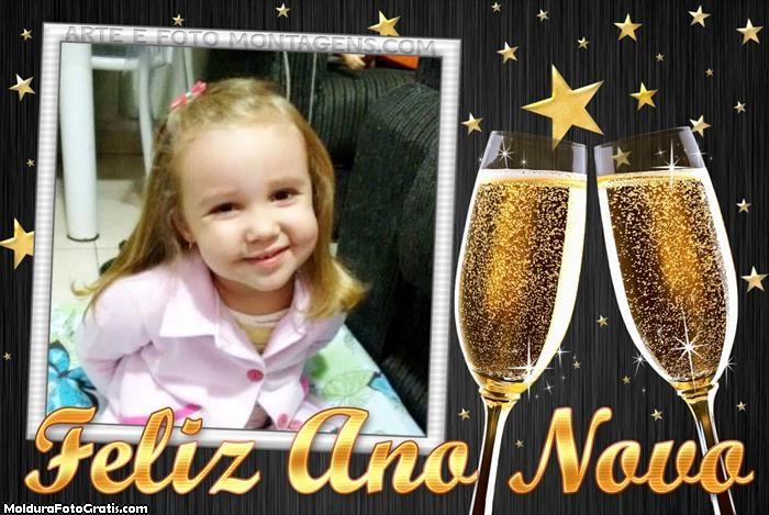 FotoMoldura Feliz Ano Novo