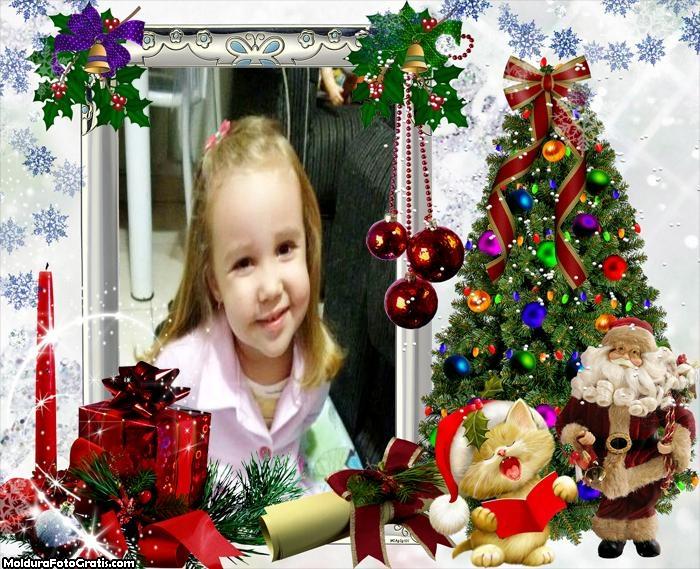 Moldura Casa do Papai Noel