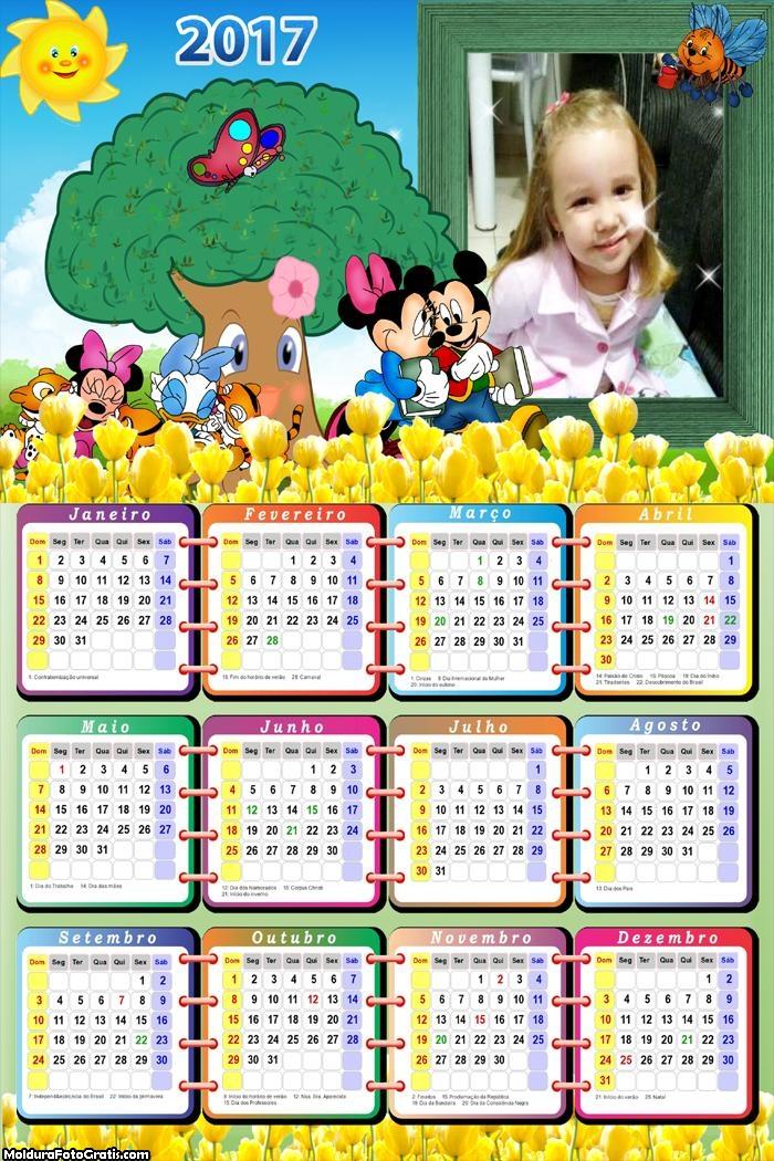 Calendário Walt Before Mickey 2017