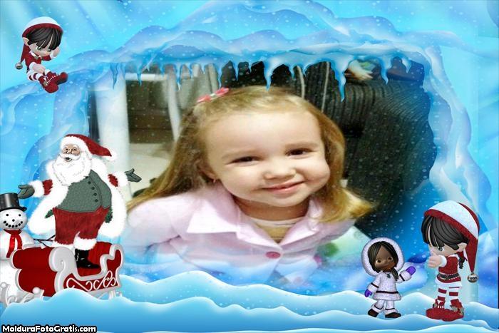 Papai Noel na Neve