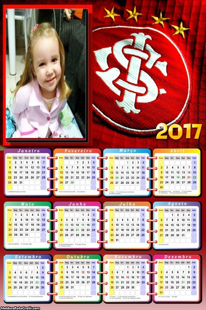 Calendário Internacional Time Futebol 2017