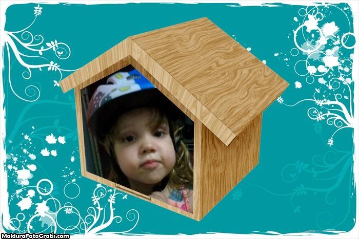 FotoMoldura Casinha Infantil