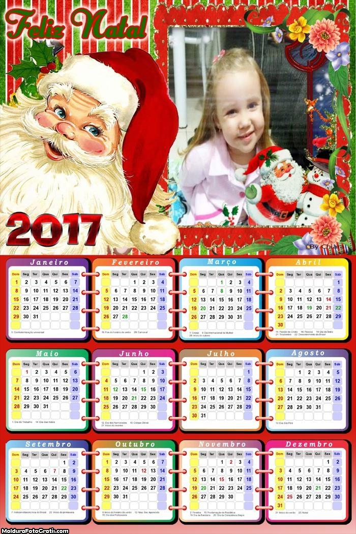 Calendário do Papai Noel 2017