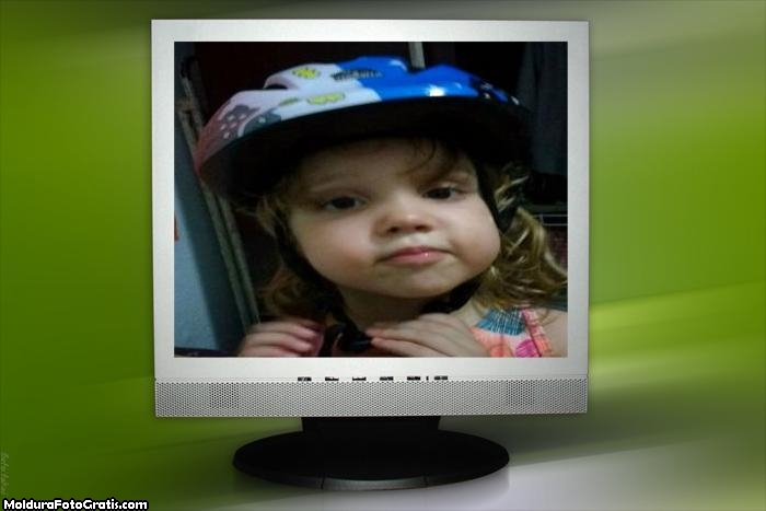 FotoMoldura Tela De Computador
