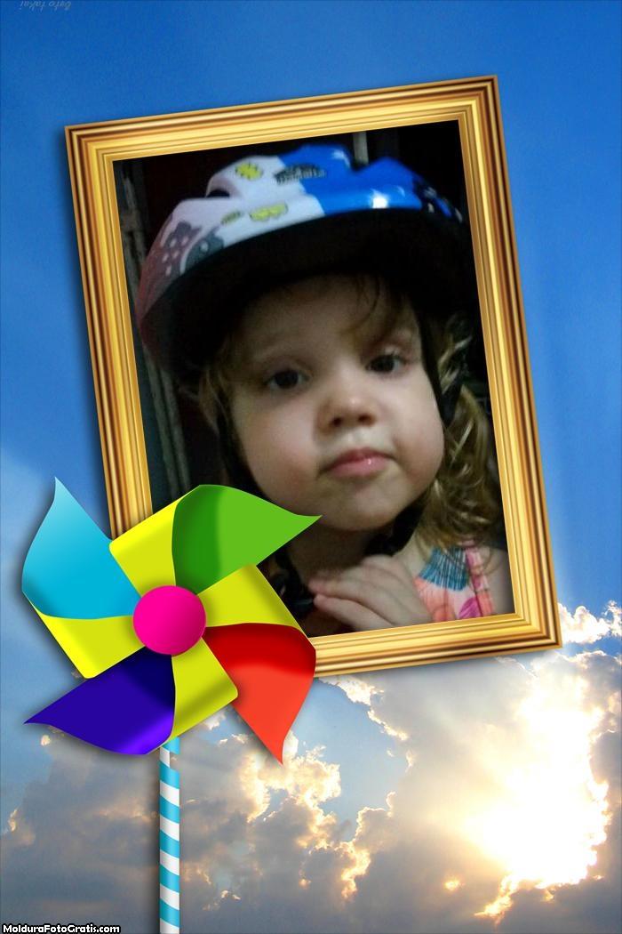 FotoMoldura Catavento Infantil