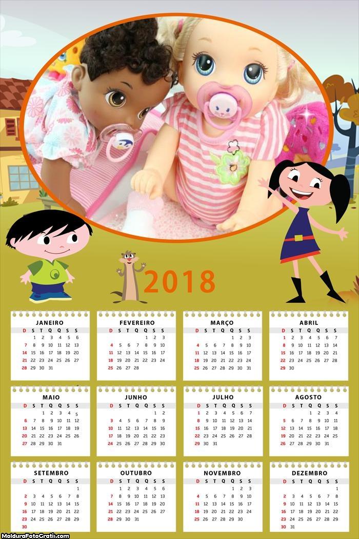 Calendário Show da Luna 2018