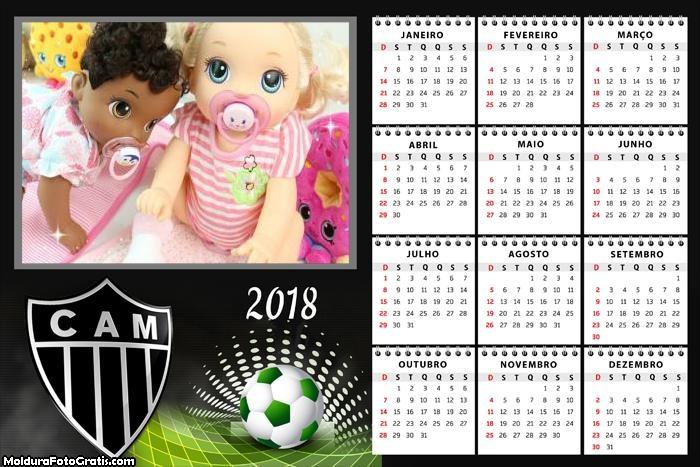 Calendário Atlético Mineiro 2018