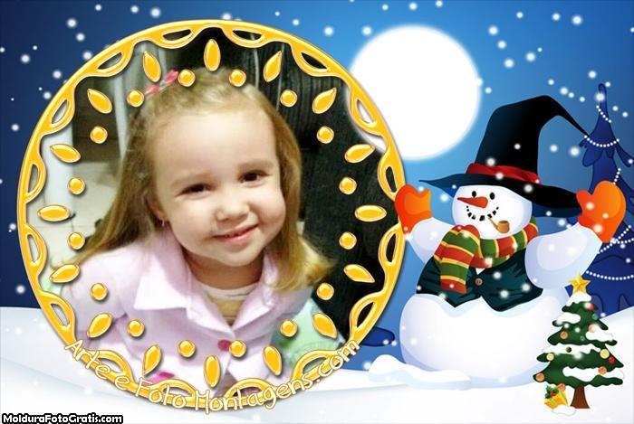 Boneco de Neve Natalino