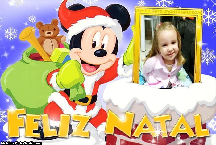 Feliz Natal do Mickey Mouse