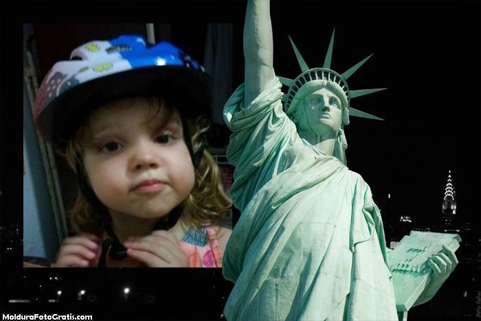 FotoMoldura Estátua da Liberdade