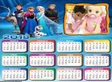Calendário do Filme Frozen 2018