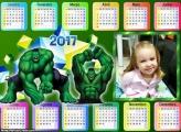 Calendário do Incrível Hulk 2017