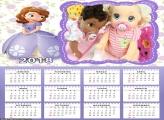 Calendário Princesa Sofia 2018
