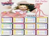 Calendário Pantera Cor de Rosa 2017