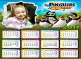 Calendário Pinguins de Madagascar 2017
