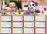 Calendário Cachorrinho Discovery Kids 2017