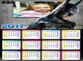 Calendário do Batman Negro 2017 FotoMoldura