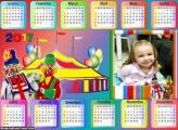 Calendário Patati Patatá Circo 2017