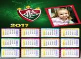 Calendário Fluminense Time de Futebol 2017