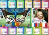 Calendário Angry Birds GO Horizontal 2017