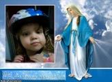FotoMoldura Mãe Das Graças Religião