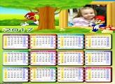 Calendário Pica Pau Memes 2017