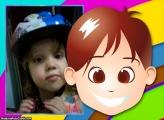 FotoMoldura Rostinho Menino Infantil