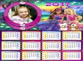 Calendário Barbie Fashionistas 2017