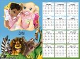Calendário Madagascar 2018