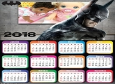 Calendário do Batman das Trevas 2018