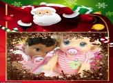 Papai Noel 3D FotoMoldura
