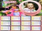 Calendário Princesa Jasmine 2017