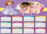 Calendário da Princesa Sofia 2018