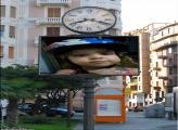 FotoMoldura Foto Relógio Outdoor