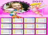 Calendário Abecedario da Xuxinha 2017