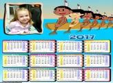 Calendário Indiozinhos da Galinha Pintadinha 2017