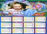 Calendário da Cinderela Princesa Disney 2017