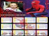 Calendário Spider Man 2017