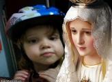 FotoMoldura Rosto Nossa Senhora Fatima