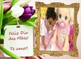 FotoMoldura Dia das Mães Flores