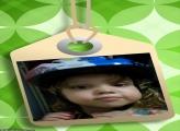 FotoMoldura Placa na Etiqueta