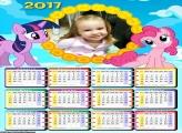 Calendário My Little Pony 2017