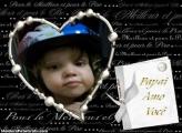 FotoMoldura Amo Você Dia Dos Pais