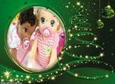Efeito de Árvore de Natal Verde