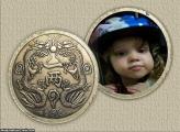 FotoMoldura Escudo De Dragões Oriental