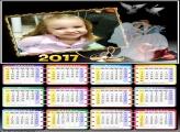 Calendário Casamento Moldura 2017