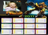 Calendário Transformes 2017
