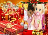 Presenteando Neste Natal Papai Noel