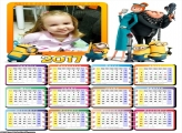 Calendário Minios Malvado Favorito 2017